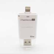 i-Flashdrive HD 32GB Dual Storage For iPhone/iPad/iPod Touch 30-pin iDevices and USB Devices
