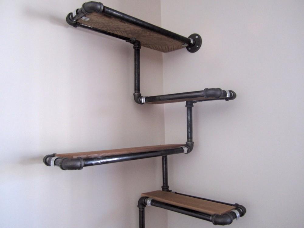 Мебель на хромированных трубах своими руками 53