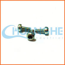 Made in china titanium screw m6 x 20 din 6921 race edition black