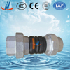 Union Type Screwed Rubber Flexible Joint For Small Diameter Pipe