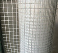 alkali-resistant fiberglass mesh coated with an emulsion