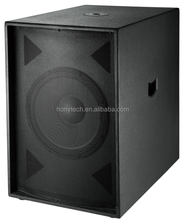 400W PA system high power big bass pro audio 18 inch subwoofer box design