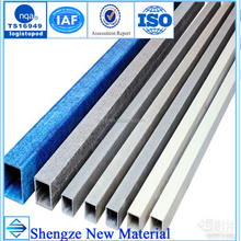 Factory Supply Pultruded Structural Fiberglass FRP GRP Square tube