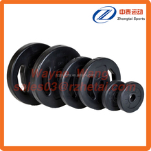 two grip plastic coated sand filled weight plate