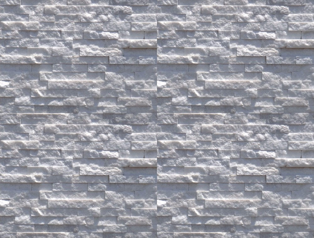 Elevation Stone Price : Zt foshan factory price white split face elevation