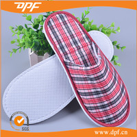 2015 Hot Sale Towel Fabric Bath Slippers