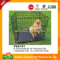 Alibaba Supply Metal Folding Galvanised Dog Crate
