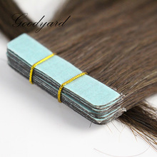 "Brazilian human hair mixed color 8""-30""adhesive tape hair extension"