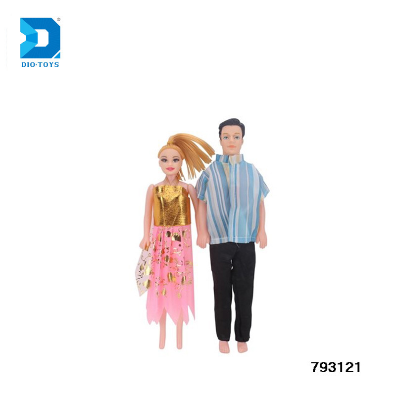 Lovely wedding couple doll toy 11 inch american girl doll for kids