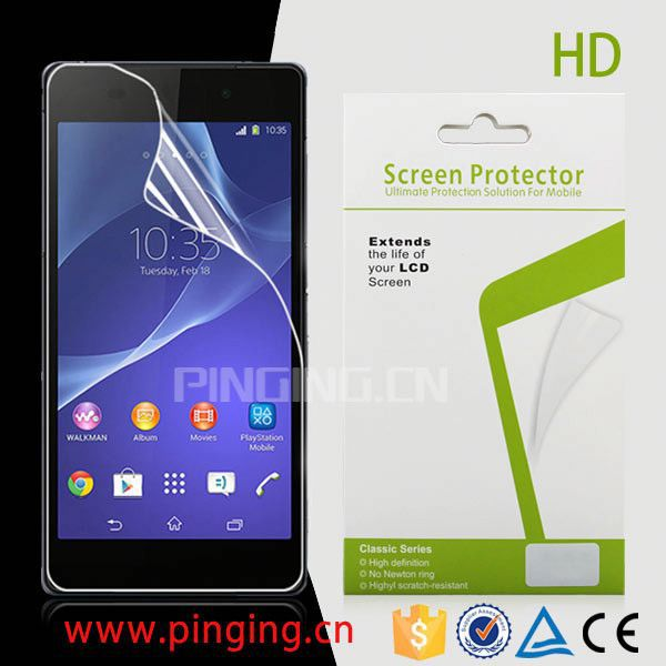 Hottest Mobile Phone high clear screen protector for Myphone A919i,for Myphone A919i smooth screen protector