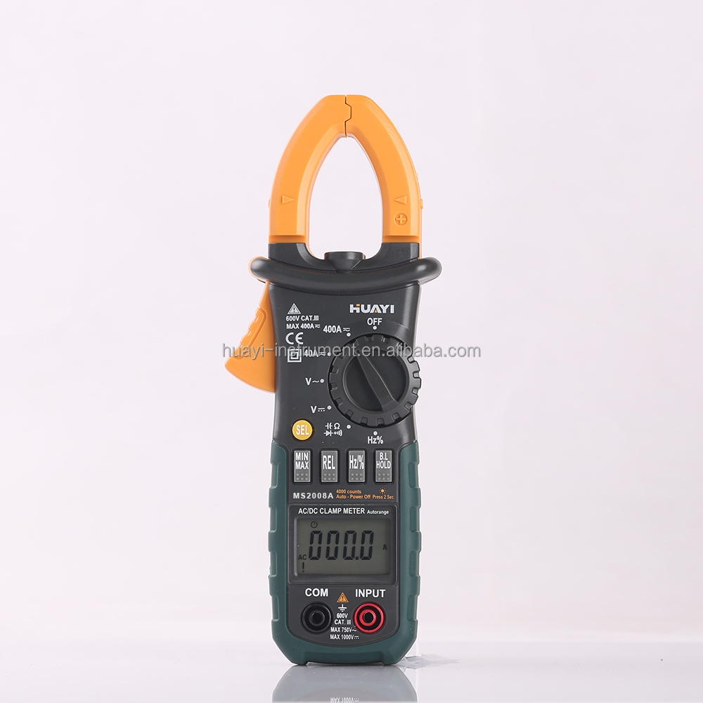 China Factory Low Price Professional Multimeter Digital Clamp Meter MS2008A
