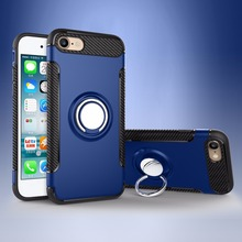 High Quality Cell Phone Case For Iphone 5 5g With Finger Ring Back Cover Case For Iphone 5 5g