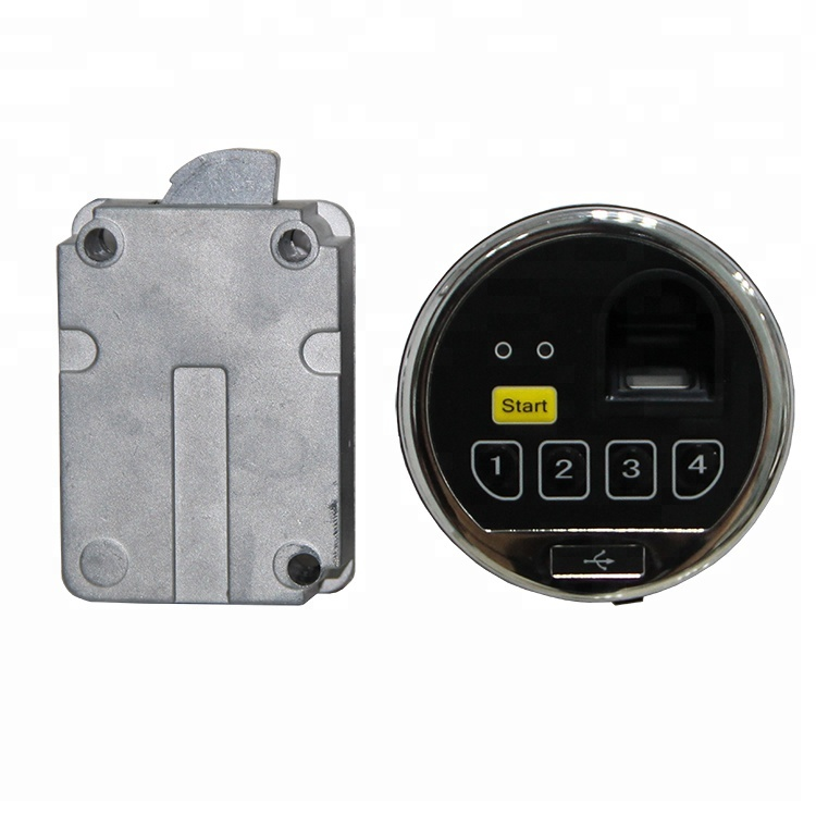 Biometric Fingerprint Electronic Access Control Safe Lock for Safe Box DT1013 with key