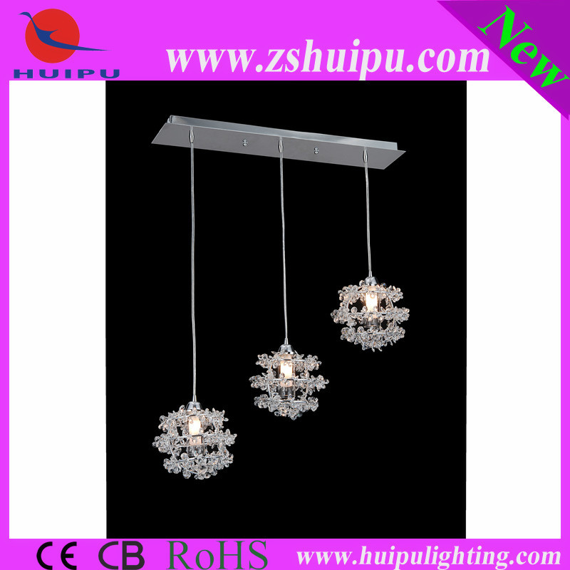 Glass Lamp Shades Crystal Pendant Chandelier