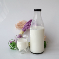 Buy 1 liter glass bottle with screw in China on Alibaba.com