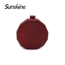 Hot selling red colored glass bottle perfume for woman cosmetic use