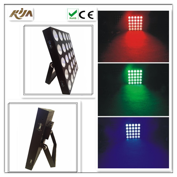 Concert light 3in1 disco 250w 5x5 matrix 30w led with ce rohs certificate