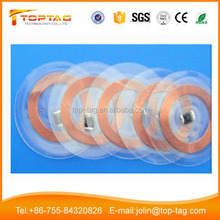 PVC Round NFC Tag with 3M Sticker for Management with at Low Price