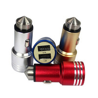 Aluminium alloy Car Charger 2.1A DC charger