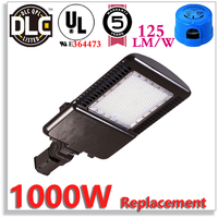 480V DLC Outdoor Lamp Lights,LED Parking Lot Lamp 265W Replace 1000W HPS/MH/HID