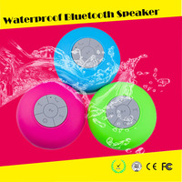 2015 portable Shower wireless speaker bluetooth waterproof bluetooth speaker