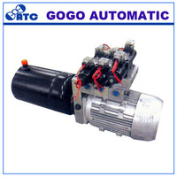 HPU-32 ninbo stainless steel wholesale forklift truk control valve 24v hydraulic power pack unit pump