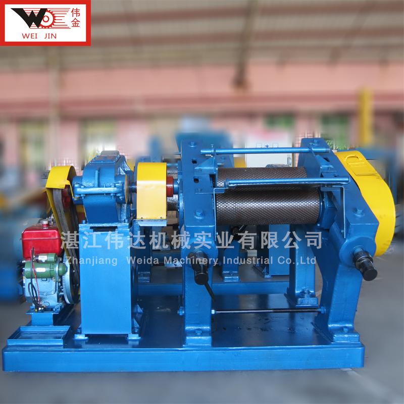 TSR natural rubber processing rubber crepe machine latex rubber creper sheet making machine