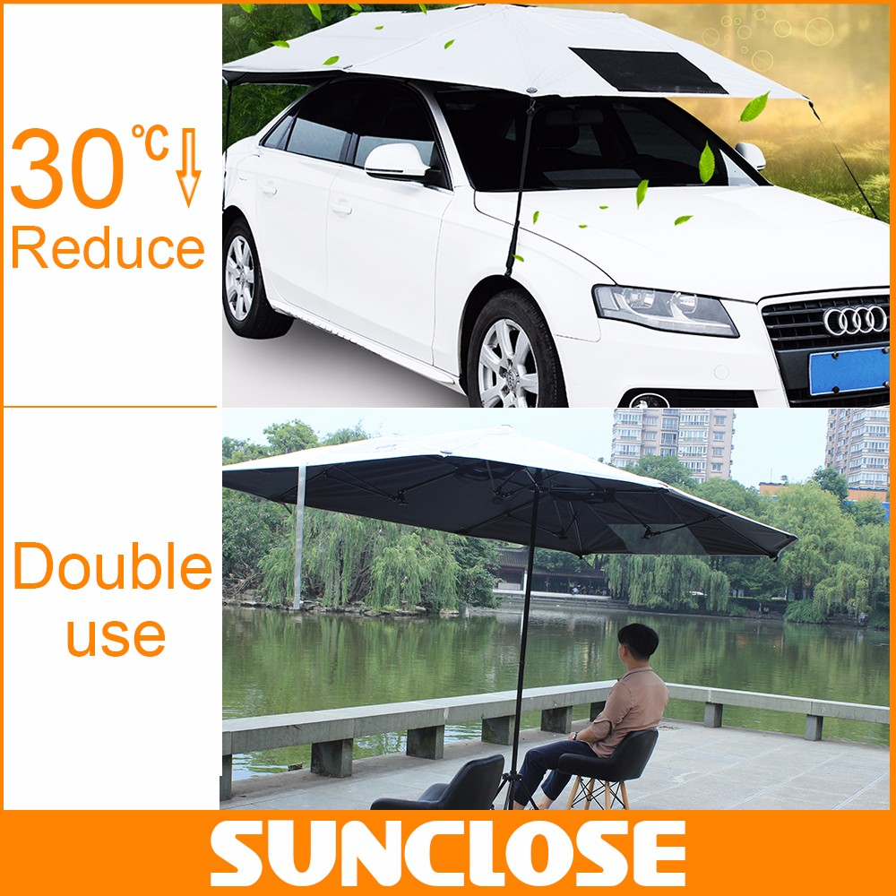 SUNCLOSE Factory outdoor sun shade kids car garage sedan motorcycle side covers