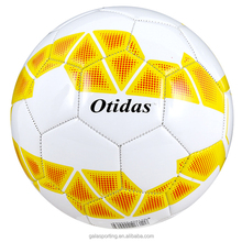 PVC Leather Material cool soccer balls