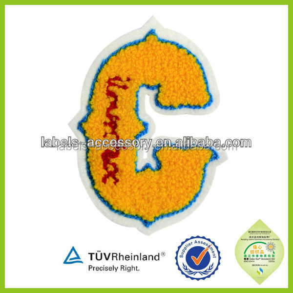 custom California embroidery indian chenille patch