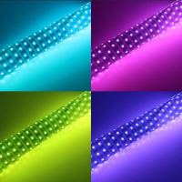 good quality dream color LPD8806 ic built external smd5050 addressable RGB Digital LED flexible strip