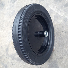 16 inch solid rubber tires