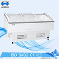 commercial used display freezer cabinet for supermarket