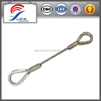 supply china manufacture high quality and good price strong steel / stainless steel wire rope sling