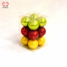 4cm Pearl Ball ,Color Mixture , Christmas Tree ball Decorations