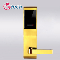 High security hotel card key lock system for hotel security solution