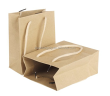 Paper Gift Jewelry Party Bag Food Carrier Bags
