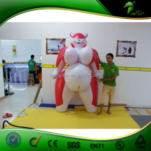 Customized Best Popular 2m Tall Red Inflatable Fox Characters Cartoon/Inflatable Advertising Cartoon