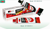 DY-M1215 red and black sealant adhesive with blister card package