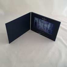 Upscale 7 Inch LCD Video Greeting Card