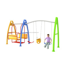 Outdoor Playground Amusement Park Residential Area Swing Combination