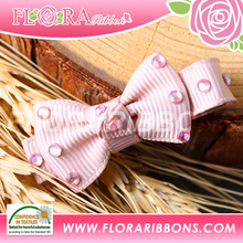 Lovely Style of Baby Girl's Ribbon Bow Hair Clip Hair Accessories