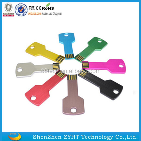 high quality promotional wholesale key style design usb memory stick usb flash drive with custom logo available