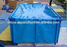 Flexible Folding Koi Fish Tank with Cover, Koi Show Display
