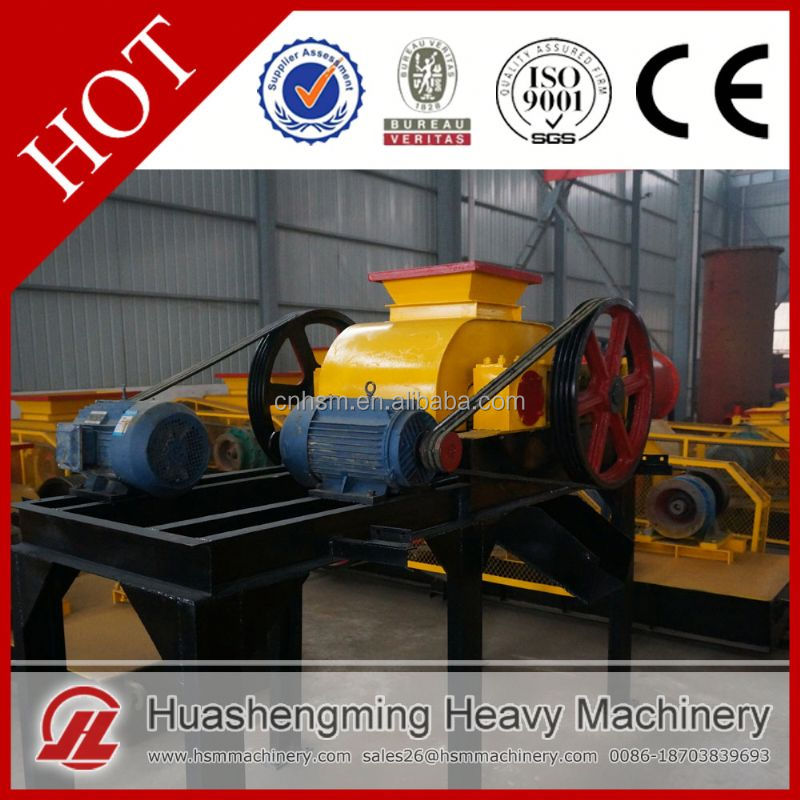 HSM Professional Best Price soil nickel ore roller crusher