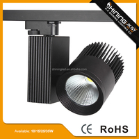 Modern 100-240V movable led track light