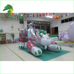 Hongyi Inflatable Animals Toy Cat With Bounce