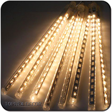 LED Cascading Tube Rain Drop Meteor Snow Shower Christmas Lights