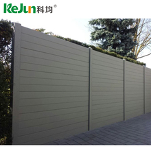 Jiangxi Factory Supplying Popular and Cheap Wood Plastic Composite Fence WPC Fence for sale