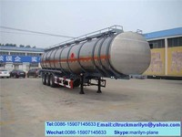 new oil trailer tanker double hulled oil tankers for sale 45000 liters fuel tank trailer